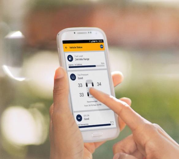mychevrolet mobile app capabilities
