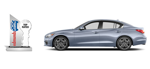 The Infiniti Q50 Has Been Given Top Rated Car Award By Edmunds