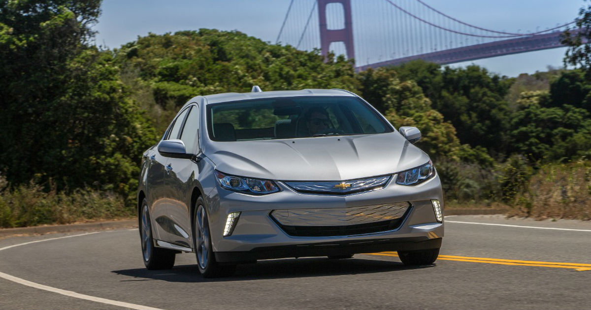 2019 Chevy Volt Exterior Front Side